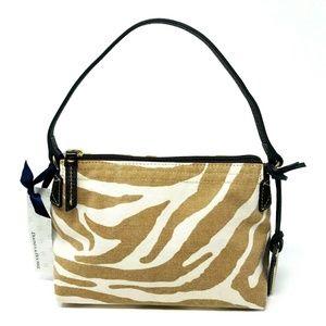 Dooney & Bourke Zebra Canvas Purse Mini Small Hand